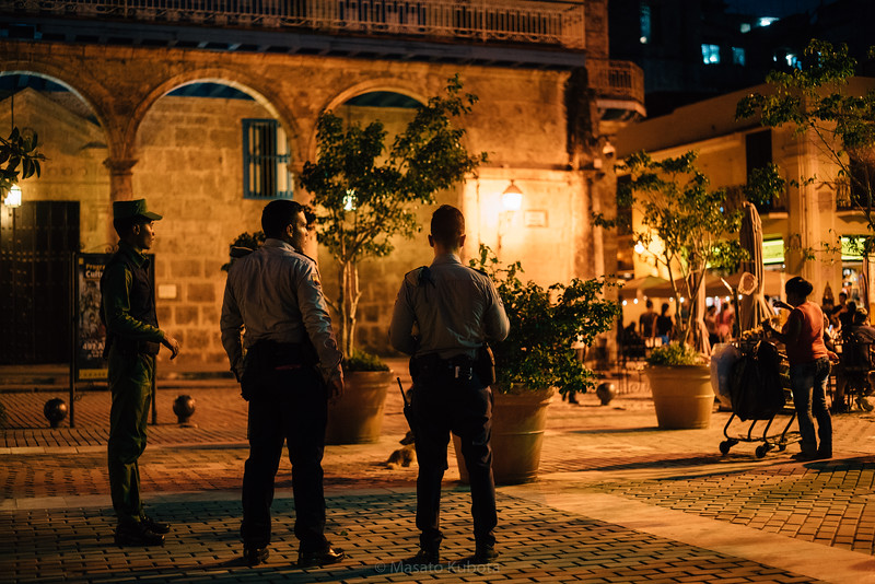 Plaza Vieja, Havana, Cuba, November 2017