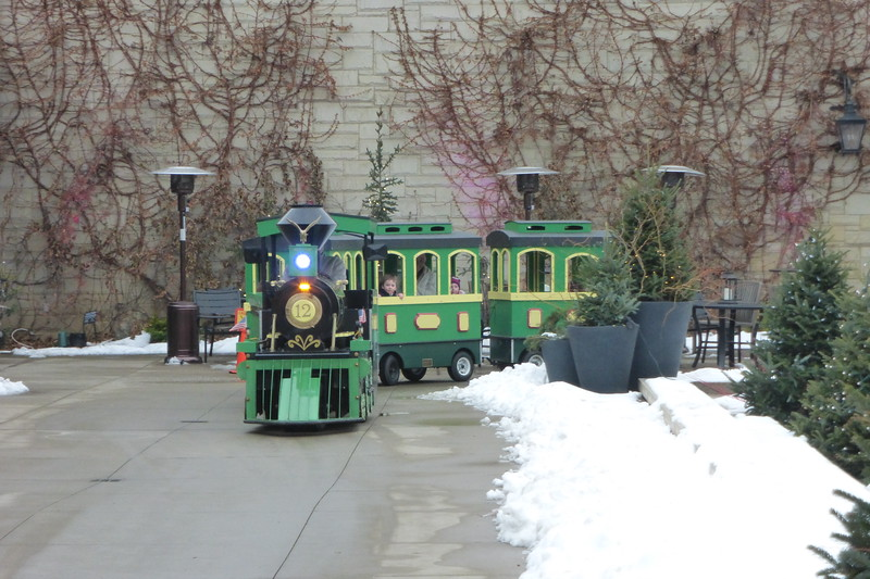 The children's train ride