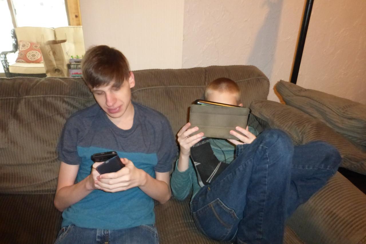 Andrew and Matt