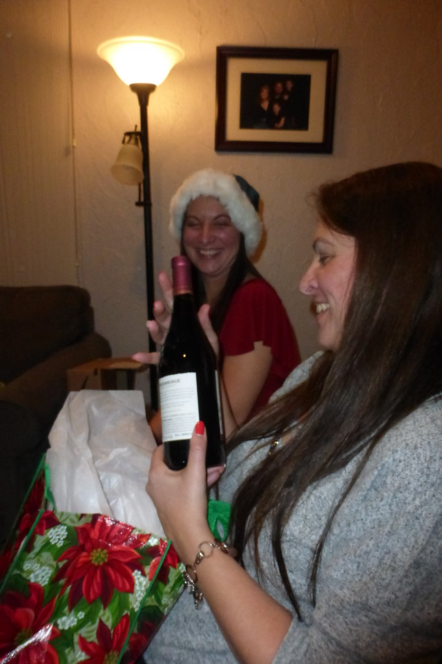 Deb got some wine.