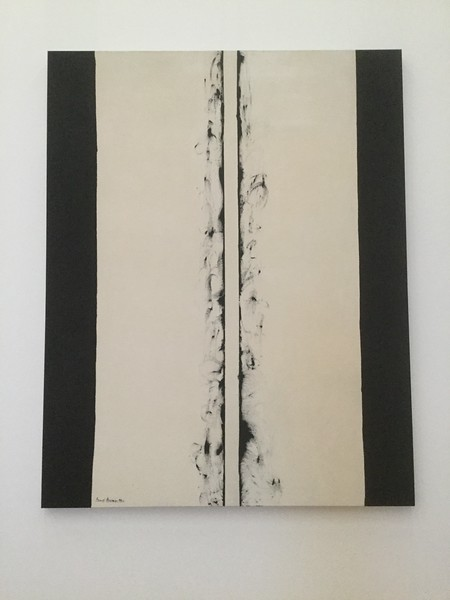 White Fire II by Barnett Newman, 1960