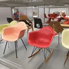 Not one but two Eames rockers. When I have a minimalist house, I will get many, but all with arms.