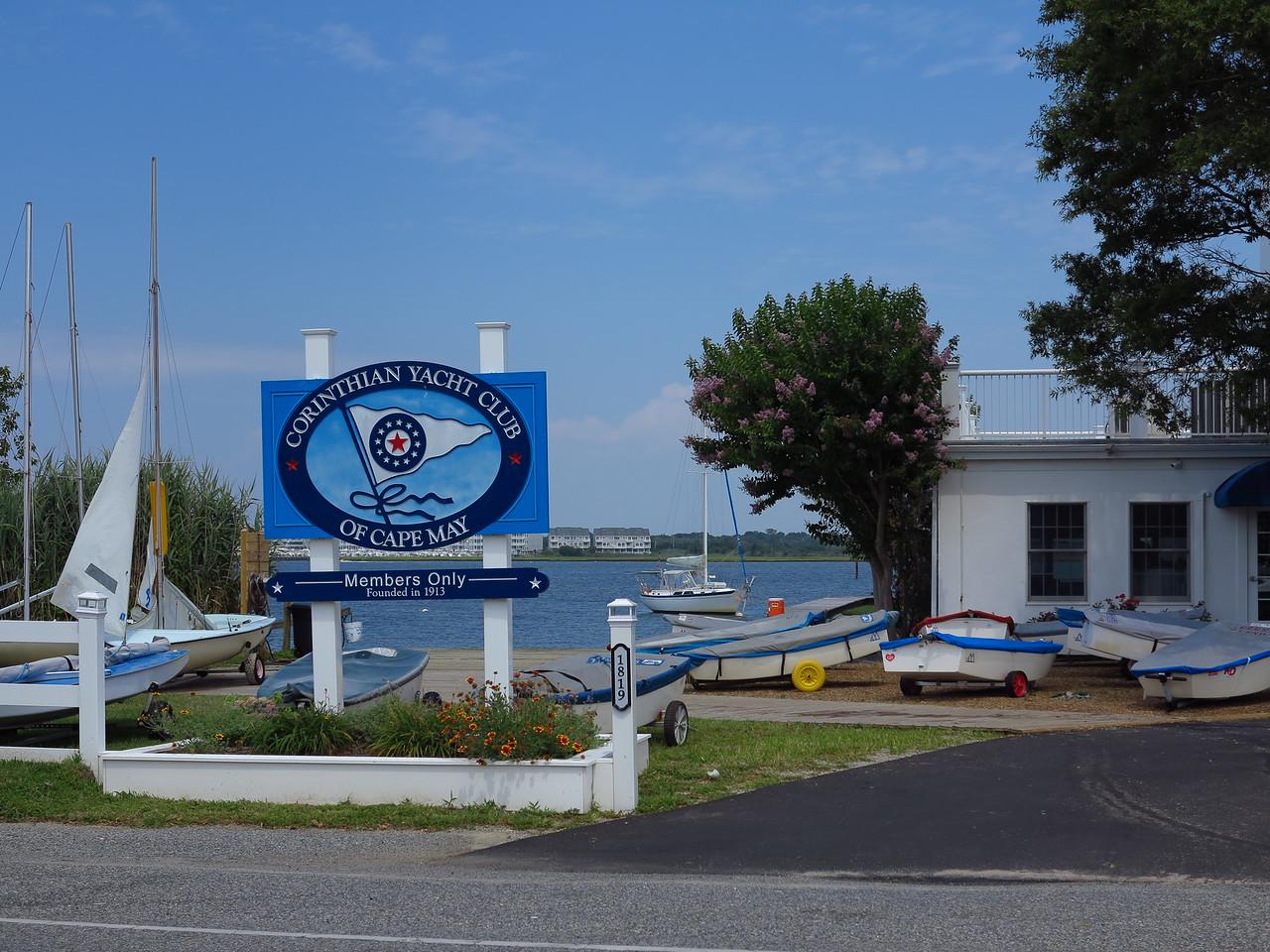 Corinthian Yacht Club of Cape May