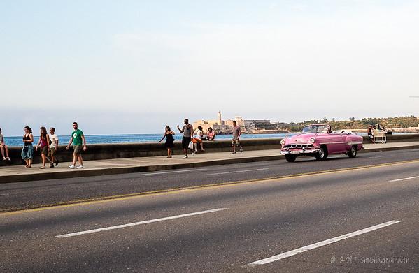 The Malecón esplanade, Havana