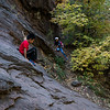 Slick rock wall, West fork trail, Oak Creek Canyon