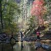Creek crossing, West fork trail, Oak Creek Canyon