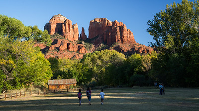 Cathedral Rock, Red Rock Crossing, Sedona