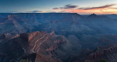 Shoshone Point sunrise