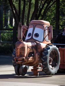 Mater's Junkyard Jamboree ride.