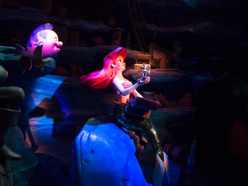 Little Mermaid ride.