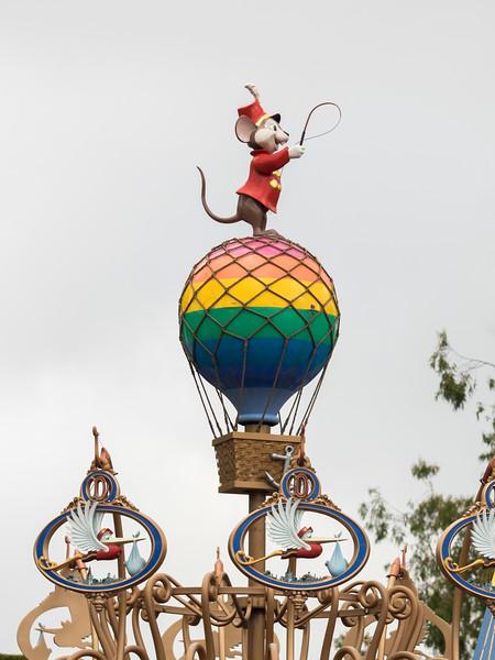 Centerpiece of Dumbo ride