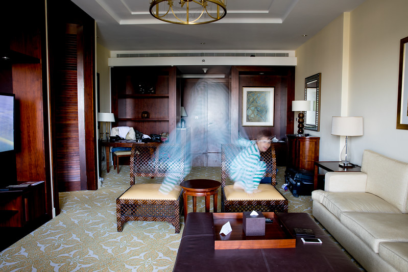 Dubai Ritz Carlton suite