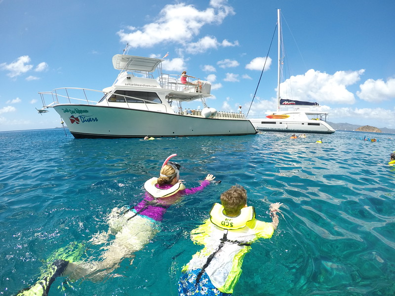 Our snorkelling boat