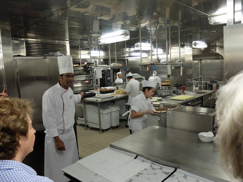 tour of the kitchen
