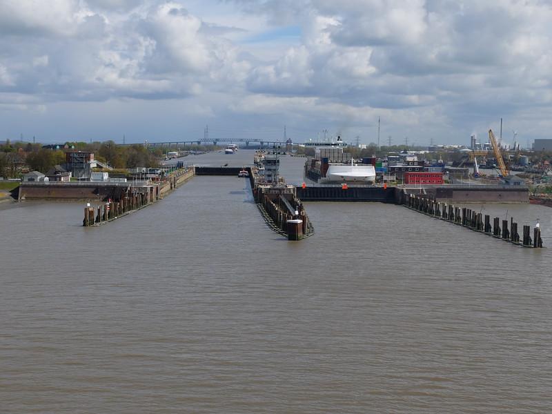 Kiel Canal locks