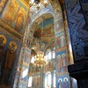 inside the Church of the Spilled Blood...all mosaic, not painted