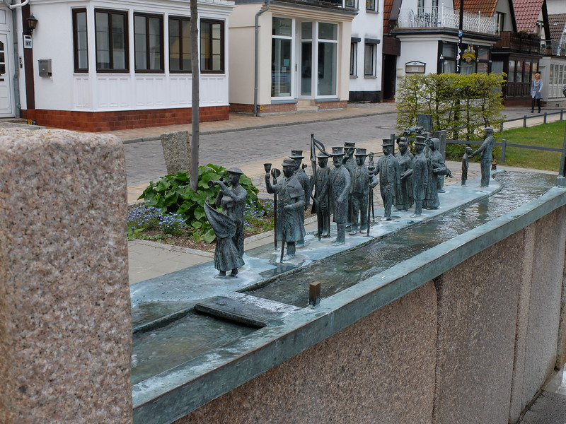 public art in Warnemunde