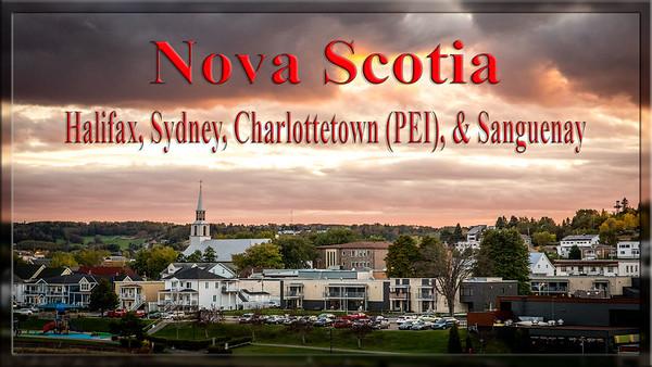 Video Slideshow Nova Scotia, PEI, and Saguenay