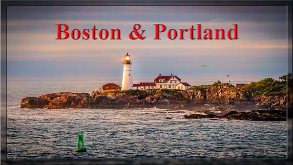 Video Slideshow Boston and Portland