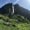 Waterfall over Fionnay