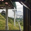 """2nd step of the hike - chairlift from Le Tour to Col de Balme. Got all of the elevation gain out of the way for a nice """"easy"""" hike downhill."""