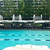 Day 1 Arrival: Geneva<br /> Pool at Intercontinental Geneva - I needed a nap upon arrival!