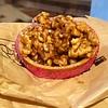 Walnut tarte dessert from a pastry shop in Chamonix, France