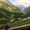 Balcony at the Hotel du Glacier, Arolla