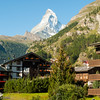 Zermatt<br /> View of Matterhorn from my hotel room balcony
