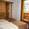 Hotel room in Chamonix