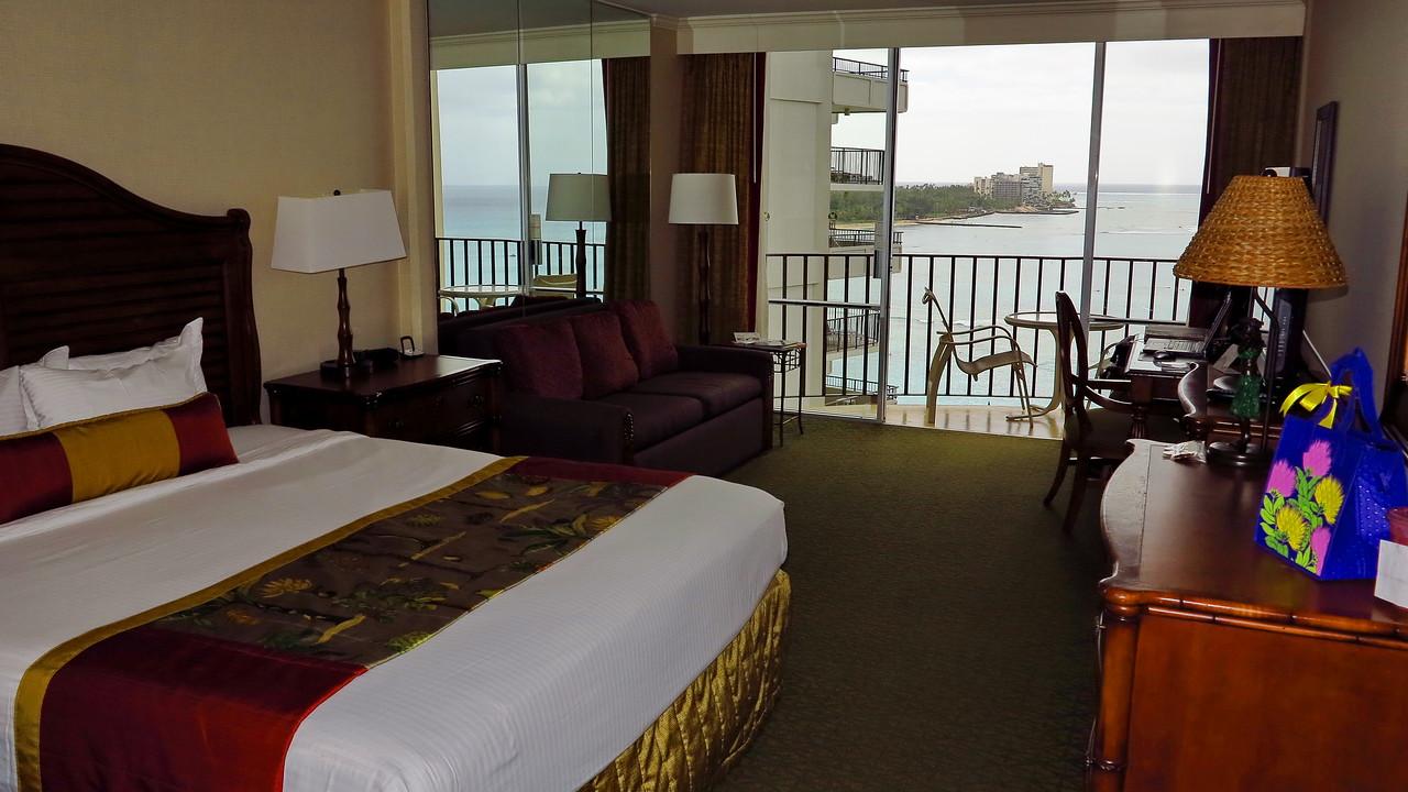 Waikiki Outrigger, room 1221