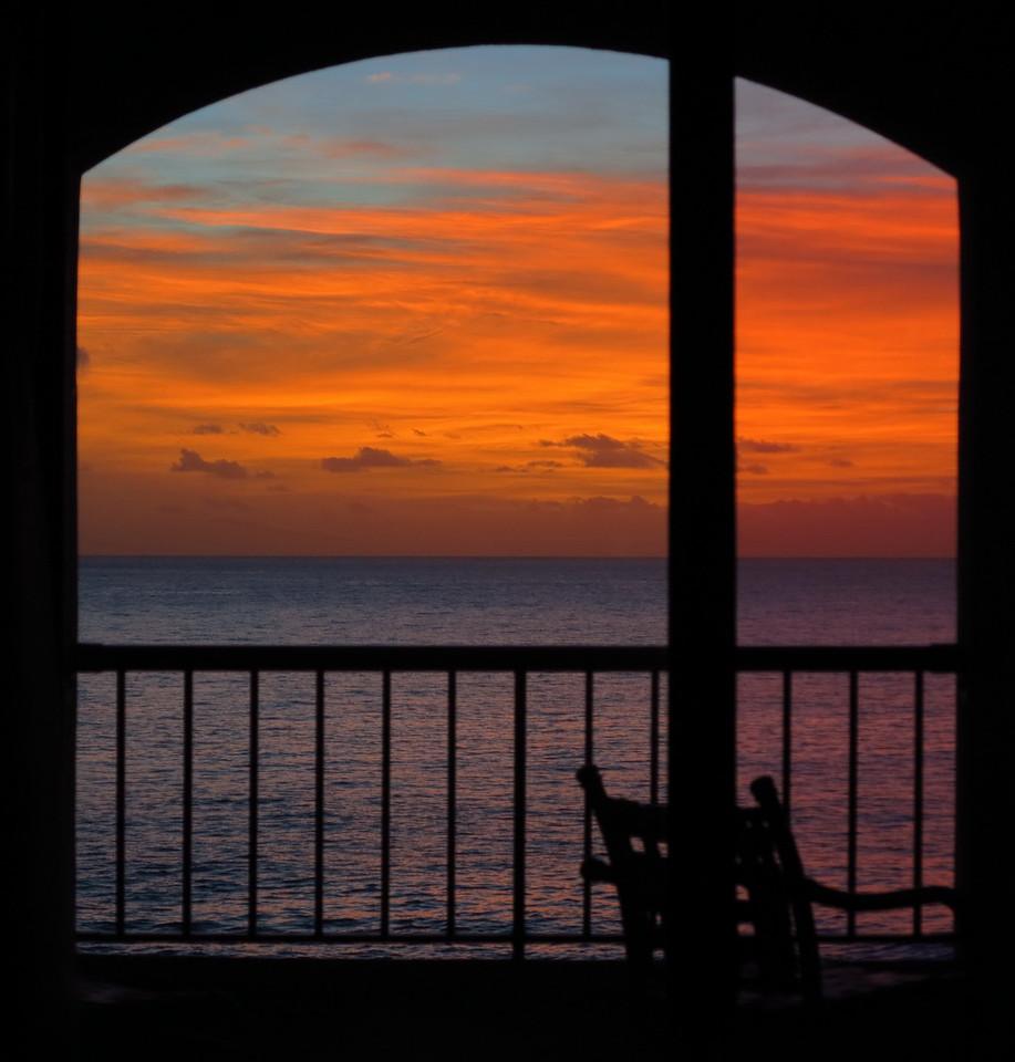Point at Poipu sunrise