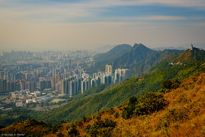 View from Kowloon Peak