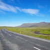 The roads are beautiful in Iceland!