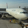Our plane to Rome from Detroit