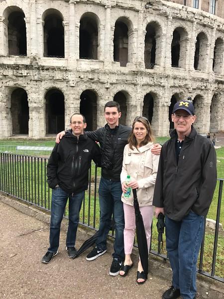 Thater Marcellus, Rome ghetto
