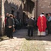 Street service, Palm Sunday, Collepino