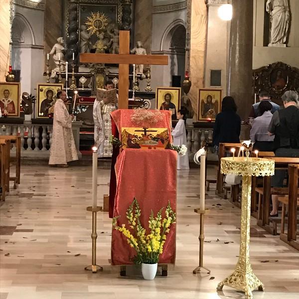 Greek Orthodox church, Milan