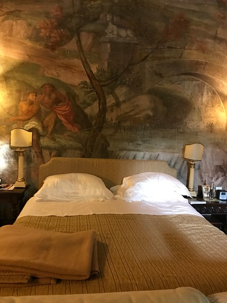 Our bedroom, Hotel Magnani Feroni, Florence