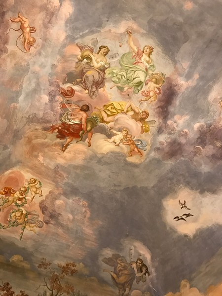 Bedroom ceiling, Florence