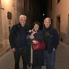 Vito and Rosa with Neal in Spello