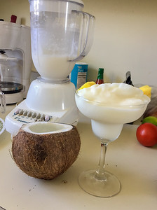 Lunchtime Pina Coladas