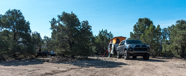 First camp was in the wilds of SW UT