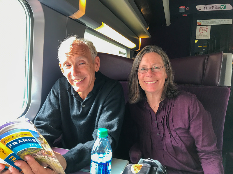 Train to Loire Valley