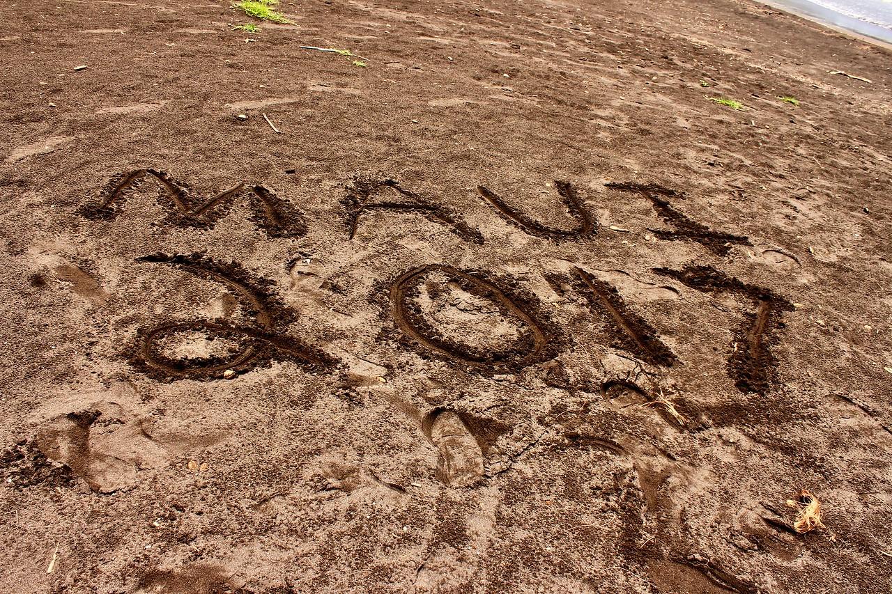 Beach in Hana