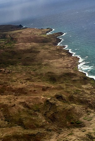 Helicopter tour of Molokai and West Maui