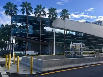 unusual architecture for a Publix building in Miami
