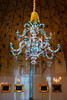 Potsdam. New palace. Porcelain chandelier.