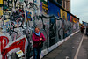 East Side Gallery, Berlin Wall, Berlin.