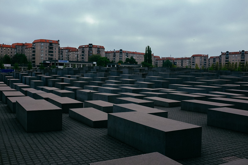 Berlin. Memorial to the murdered Jews.